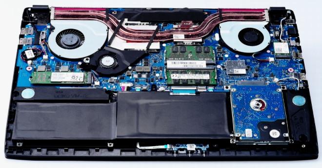 A főbb laptop hardver eszközök