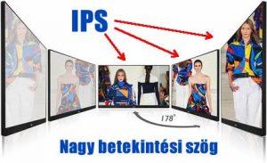 IPS kijelző panel